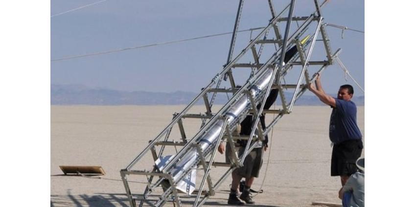 В Аризоне запустили самодельную ракету