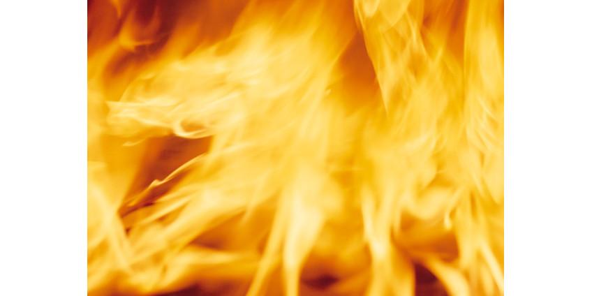 В Неваде разбушевался пожар