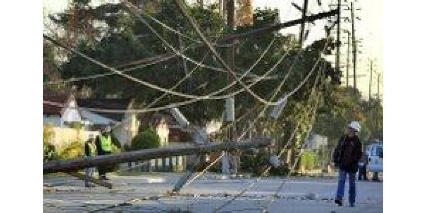В Калифорнии продолжают ликвидировать последствия урагана
