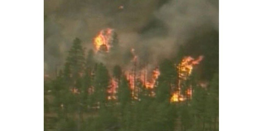 Аризона охвачена пожарами
