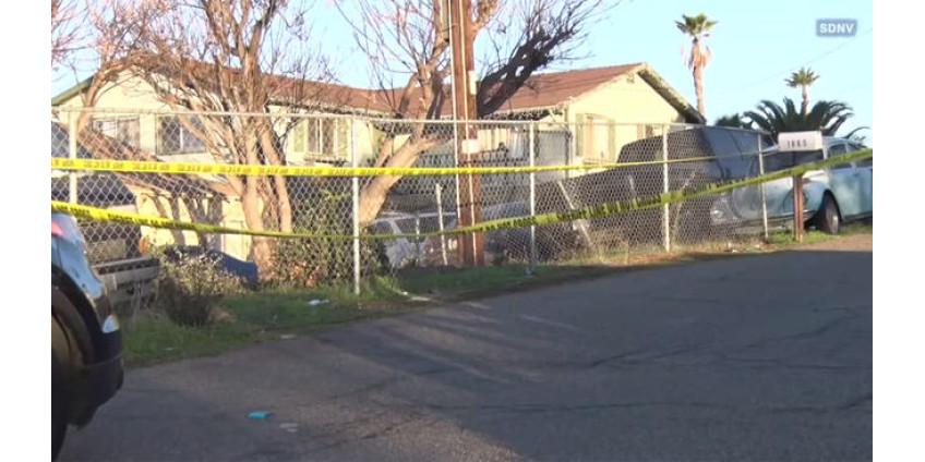 В одном из домов округа Сан-Диего была найдена мертвая женщина и раненый мужчина