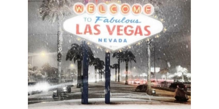 Лас-Вегас впервые за 10 лет оказался под толщей снега