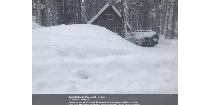 В Неваде в засыпанном снегом авто нашли живую женщину