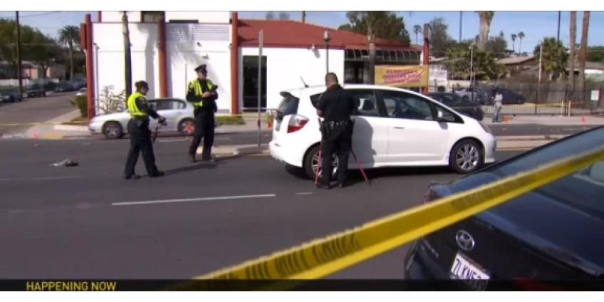 В Вегасе на бульваре Эль Кахон погиб пешеход