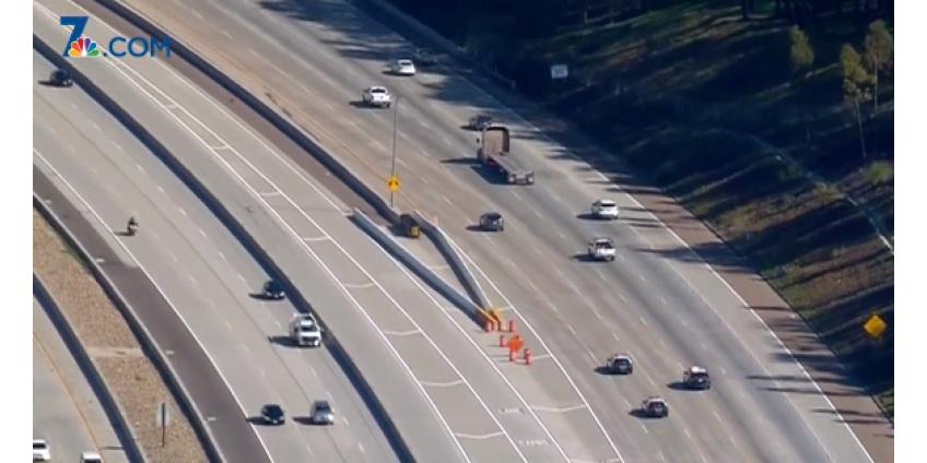 В Сан-Диего после погони по трем автострадам водитель был взят под стражу