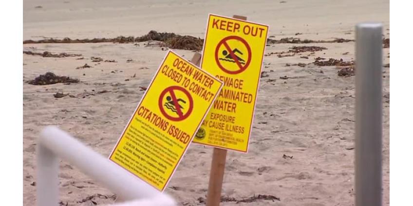 Пляжи в Ла-Хойя закрыли для купания из-за разлива сточных вод