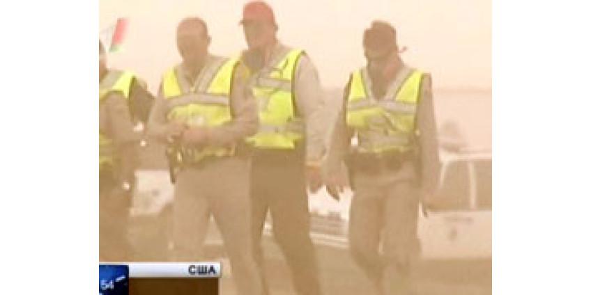 Очередная пылевая буря накрыла Финикс