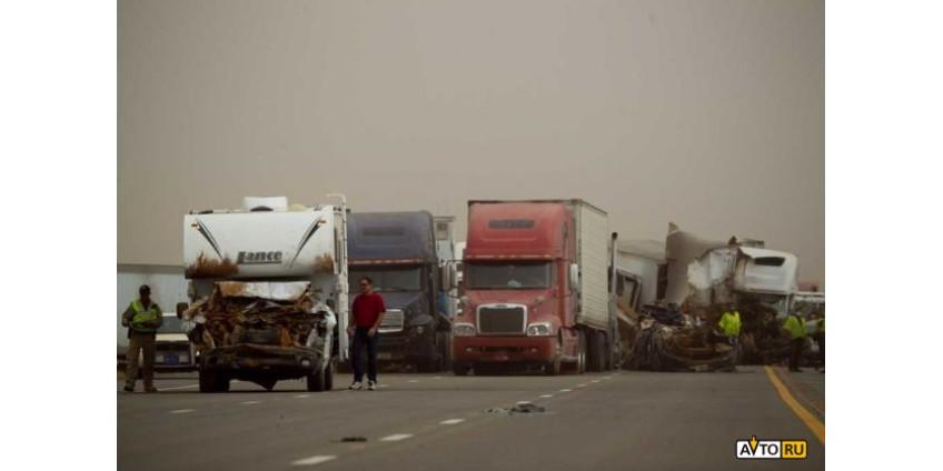 Новые подробности о пылевой буре в Аризоне
