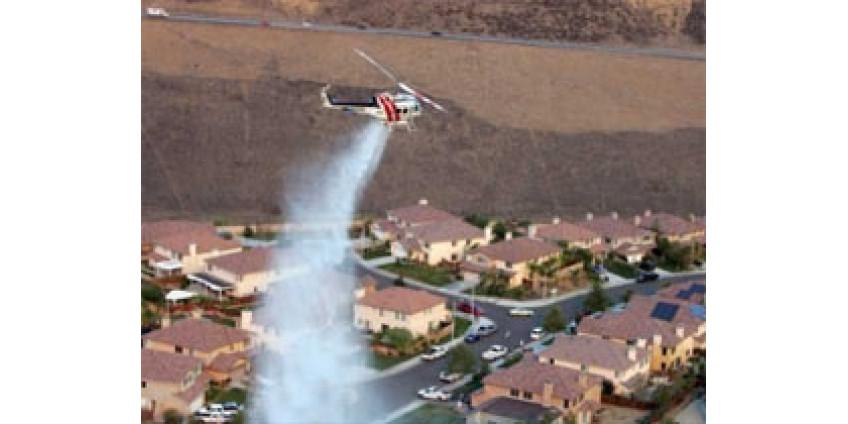 В Калифорнии пострадали тысячи домов