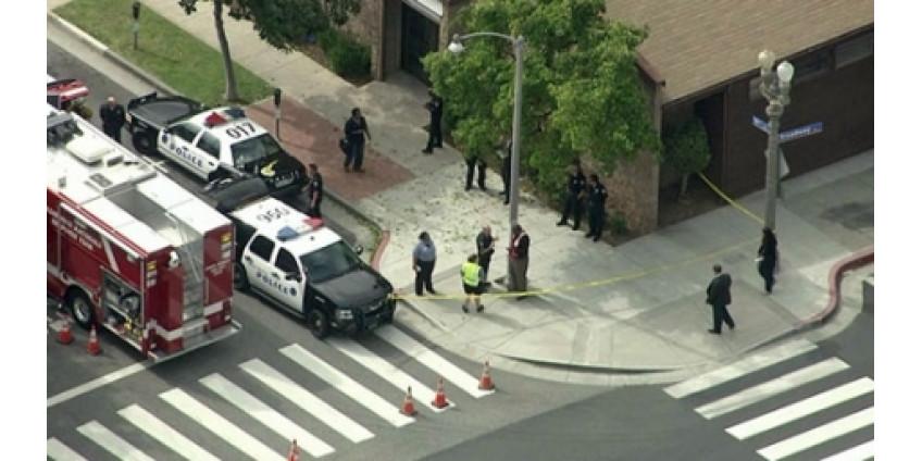 Взрыв рядом с синагогой перепугал жителей Лос-Анджелеса