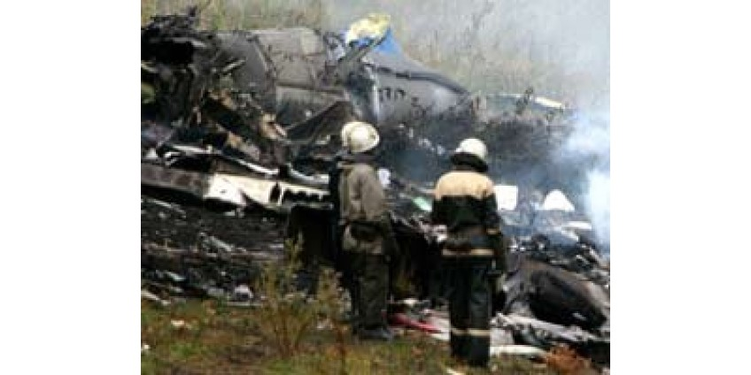 Авиакатастрофа в Калифорнии