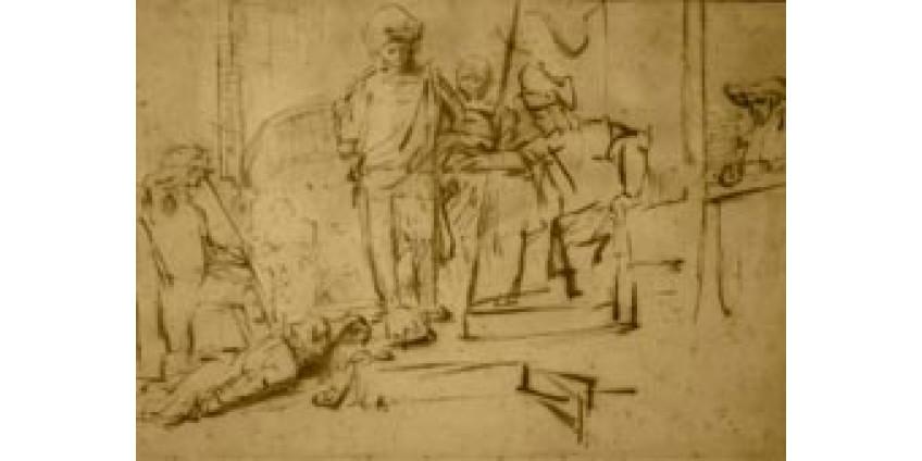 В Лос-Анджелесе «увели» набросок Рембрандта