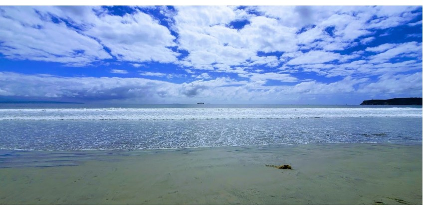 Городские пляжи Сан-Диего вновь открылись для любителей проводить время у океана