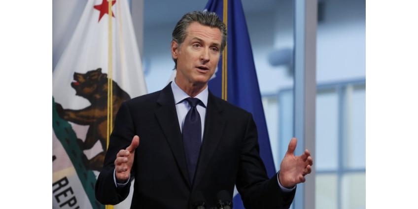 Губернатор Калифорнии Гавин Ньюсом назвал шесть целей для выхода из режима карантина CoVid-19