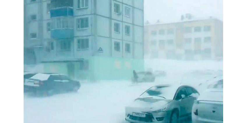 Накануне лета в России разбушевалась зима