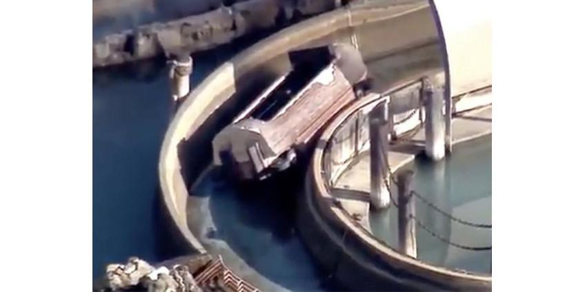 Катание на водных горках в Калифорнии закончилось серьезными травмами