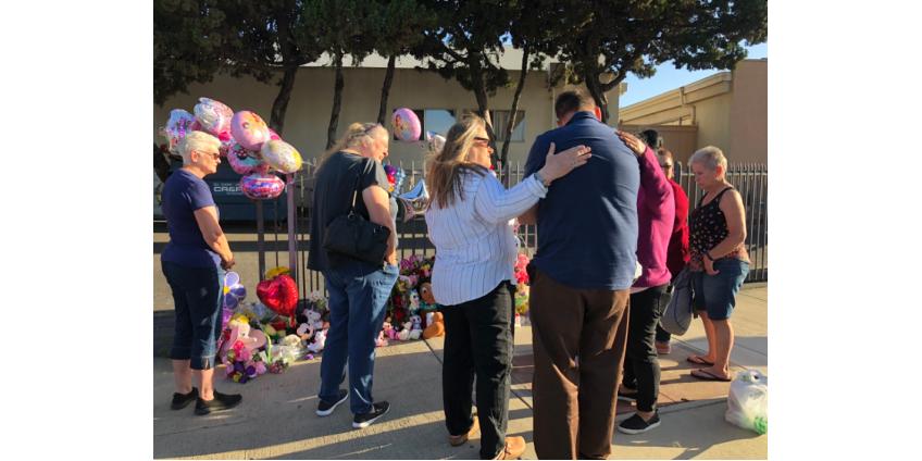 Около похоронного бюро в Лос-Анджелесе была найдена мертвая 8-месячная девочка