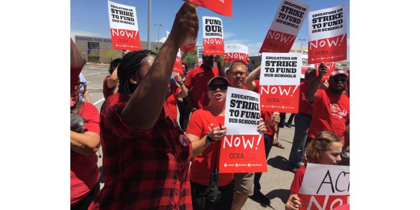 Союз учителей Лас-Вегаса все еще планирует забастовку, несмотря на подписание законопроекта о финансировании