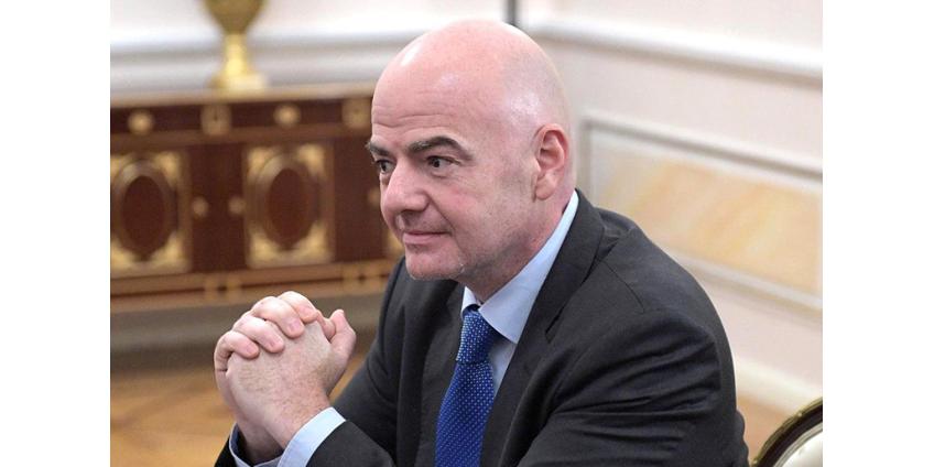 Джанни Инфантино переизбран на пост президента ФИФА