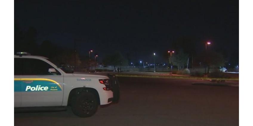 На парковке общественного центра в Северном Финиксе был застрелен молодой человек