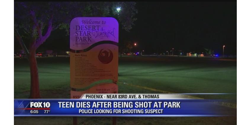 Стрельба в парке Финикса: погиб 15-летний подросток