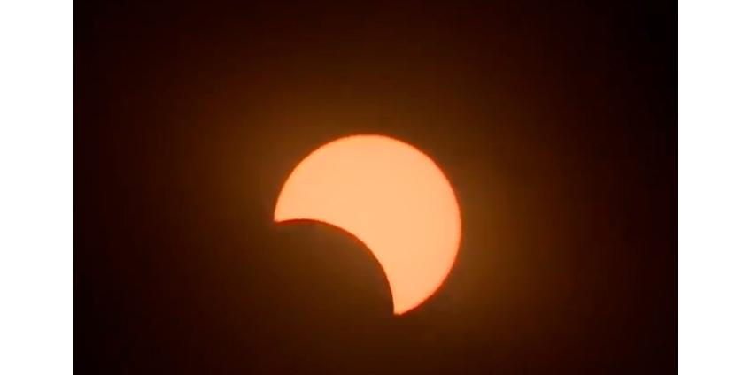 На Земле произошло полное солнечное затмение