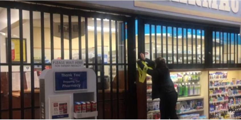 Кража в аптеке в Чула-Виста: двое задержаны, один сбежал