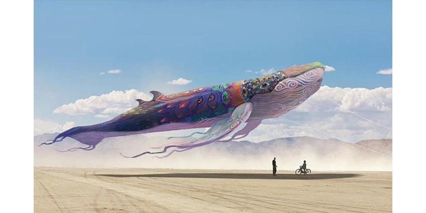 В Неваде активно готовятся к проведению грандиозного фестиваля Burning Man