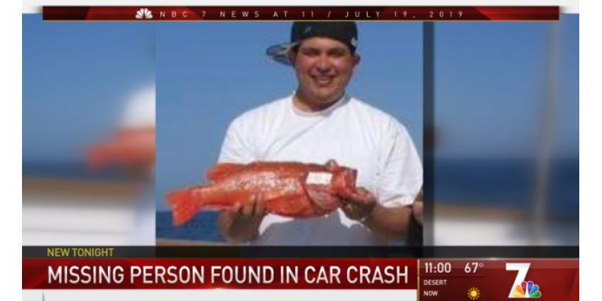 Пропавший без вести мужчина из Сан-Диего погиб в ДТП