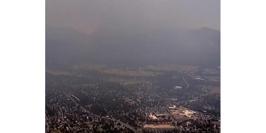 Аризона борется с пожаром