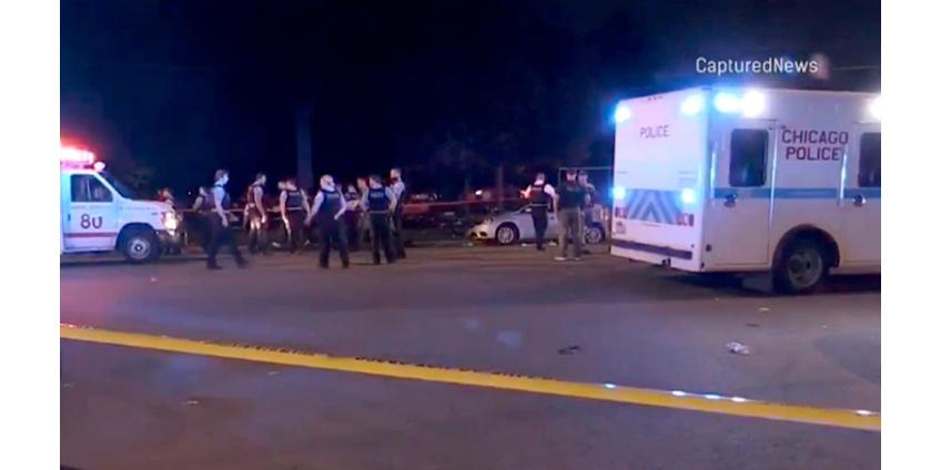 Третья стрельба за сутки в США: семь человек пострадали в парке Чикаго