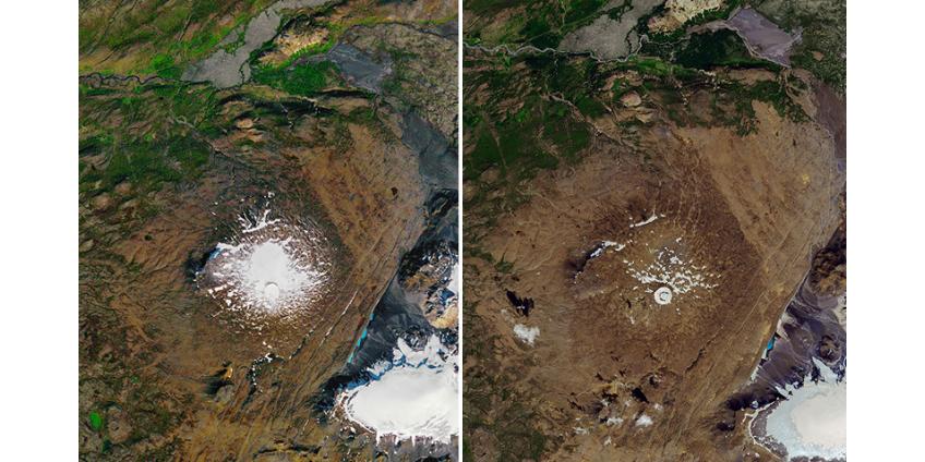 """В Исландии """"похоронили"""" растаявший 700-летний ледник, оставив на его месте тревожное послание потомкам"""