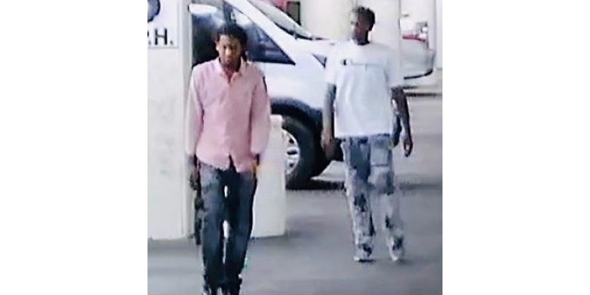Полиция Лас-Вегаса ищет мужчин, совершивших в центре города ограбление