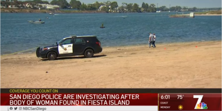 В заливе Мишн (Mission Bay) была найдена мертвая женщина