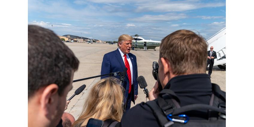"Трамп заявил о необходимости ""остановить"" демократов, начавших процедуру импичмента"