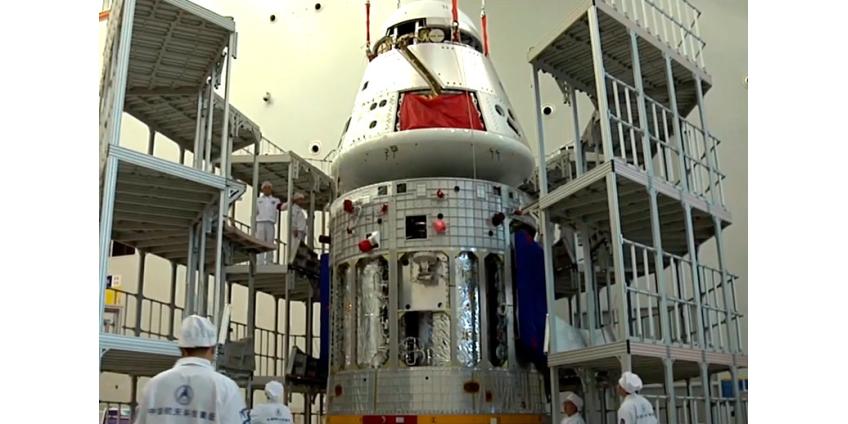 Китай представил новый космический корабль для полетов на Луну