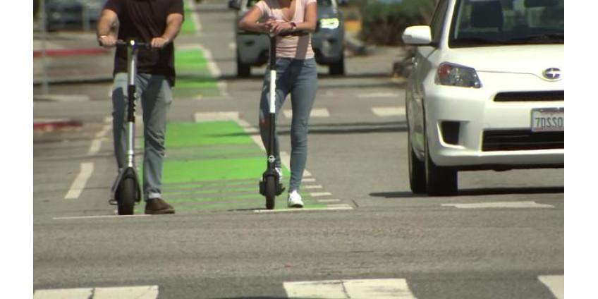 В больницах Сан-Диего зафиксирован рост травматизма при езде на электросамокатах