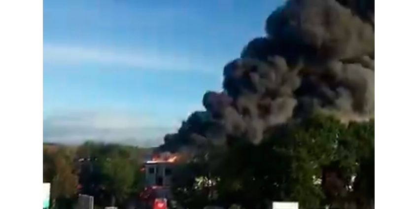 Девять человек пострадали при взрыве на мусорном заводе около аэропорта в Австрии
