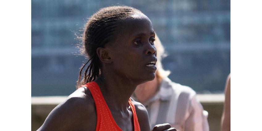 Кенийка Косгей установила новый мировой рекорд на марафонской дистанции