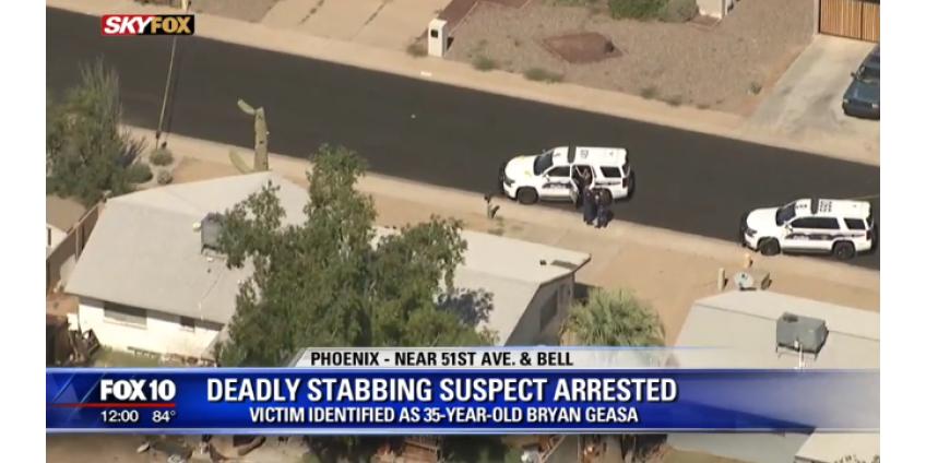 Полиция Финикса арестовала подозреваемого в нападении с ножом на 51st Ave. и Bell Road