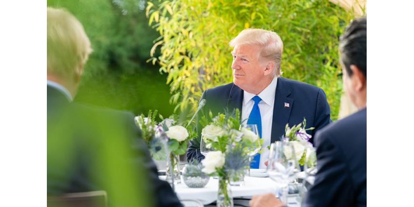 Трамп отказался от идеи проводить G7 на своем курорте в 2020 году