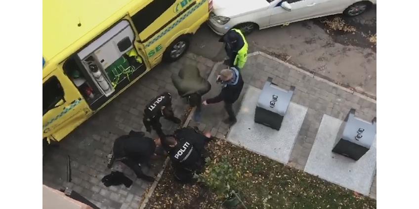 """Вооруженный мужчина угнал в Осло автомобиль """"скорой помощи"""" и совершил наезд на людей"""