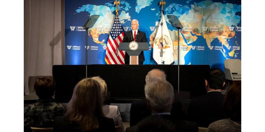 США не стремятся сдерживать развитие КНР, но хотят взаимовыгодных отношений, сказал вице-президент Майкл Пенс