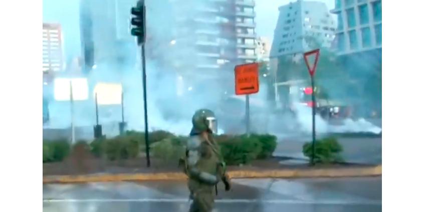 В Чили число погибших во время беспорядков достигло 19 человек