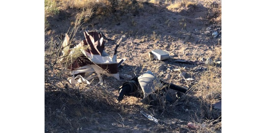 Коронер округа Кларк: опознан пассажир, погибший при крушении вертолета Red Rock