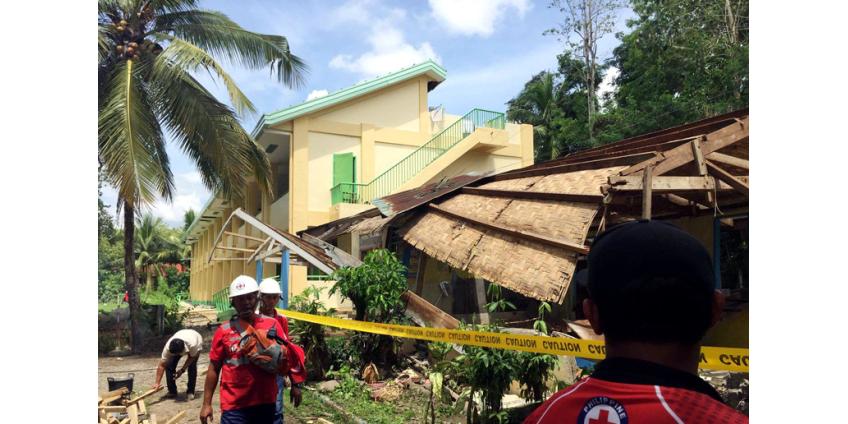 Землетрясение магнитудой 6,6 привело к жертвам и разрушениям на юге Филиппин