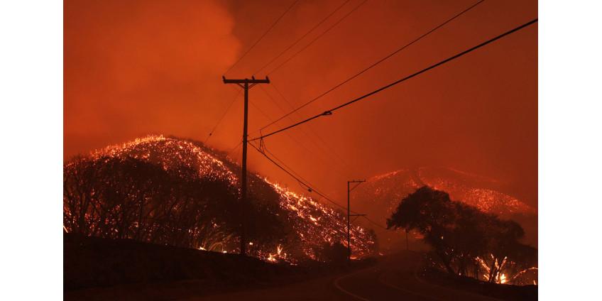 Пожары в Калифорнии: ситуация остается сложной, пожарные продолжают борьбу с огнем