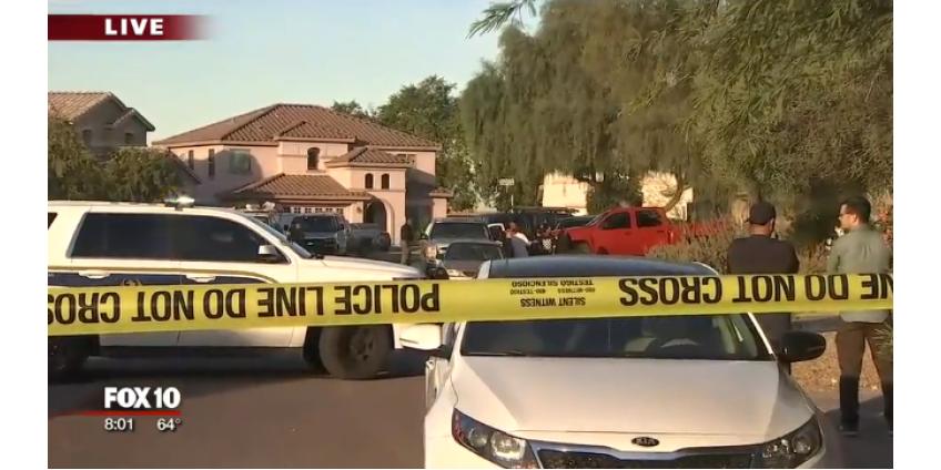 В Финиксе был найден мужчина с огнестрельным ранением