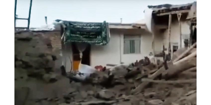 В Иране в результате землетрясения погибли 5 человек, более 100 получили ранения