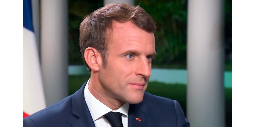"Президент Франции Эмманюэль Макрон заявил, что НАТО ""впала в кому"""